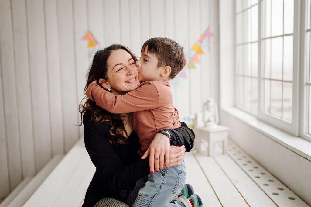 reproducción asistida en Toledo - madre e hijo