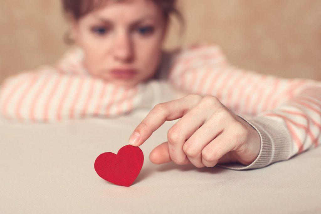 solución para el aborto de repetición - corazon pequeño